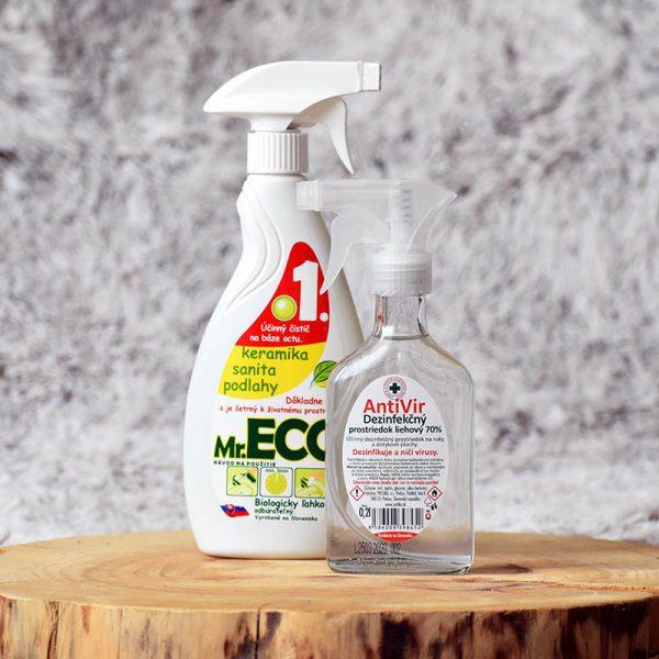 Balíček čistá domácnosť - AntiVir + Mr. ECO